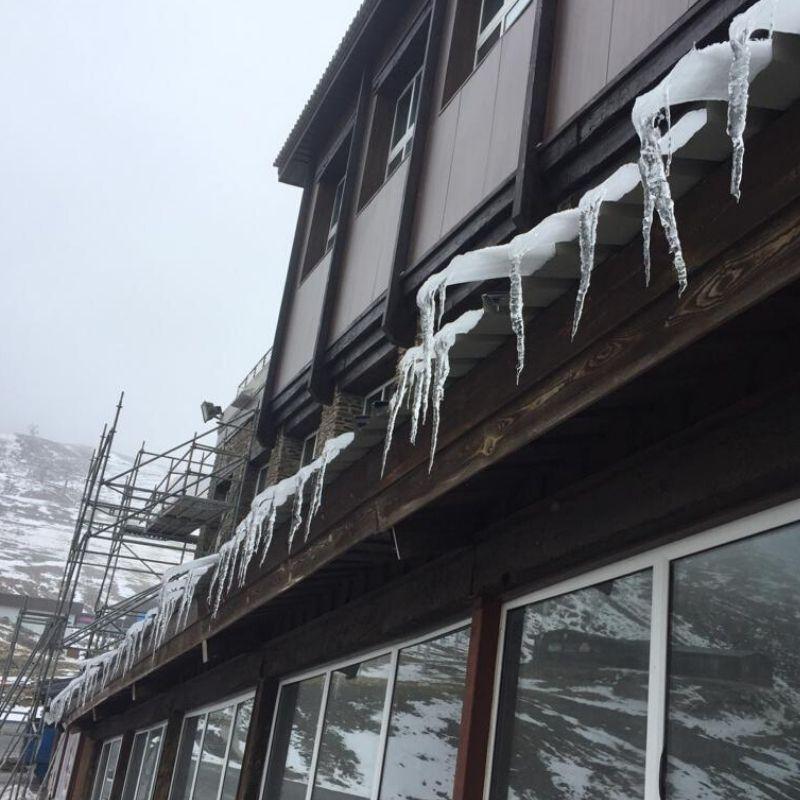 Ignifugación pintura ignífuga R60 Estación de Esquí Cetursa - Berbel Porcel