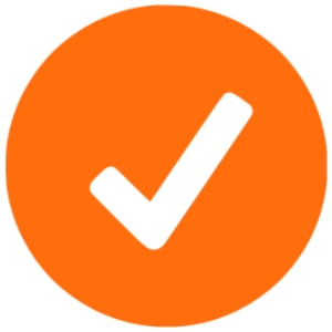 Tick naranja soluciones ignifugación