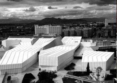 Aislamiento térmico en museo de Granada