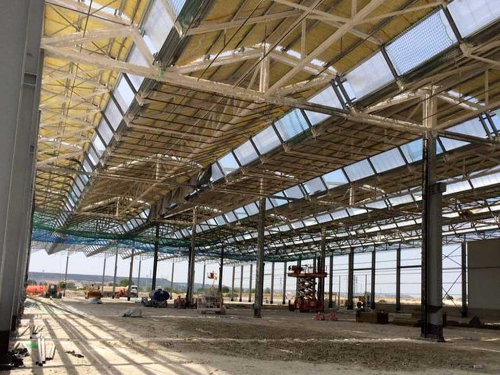 Ignifugación fábricas Renault Palencia - Berbel Porcel 2
