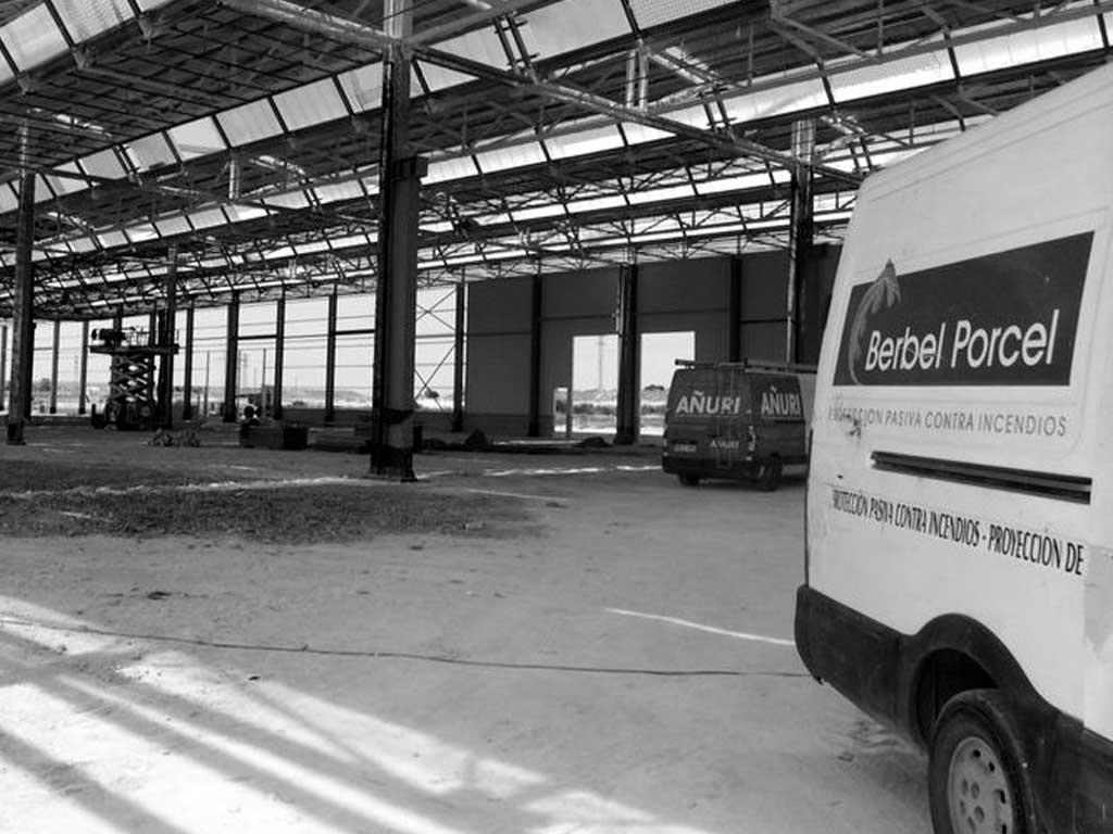 Ignifugación fábricas Renault Palencia - Berbel Porcel 3