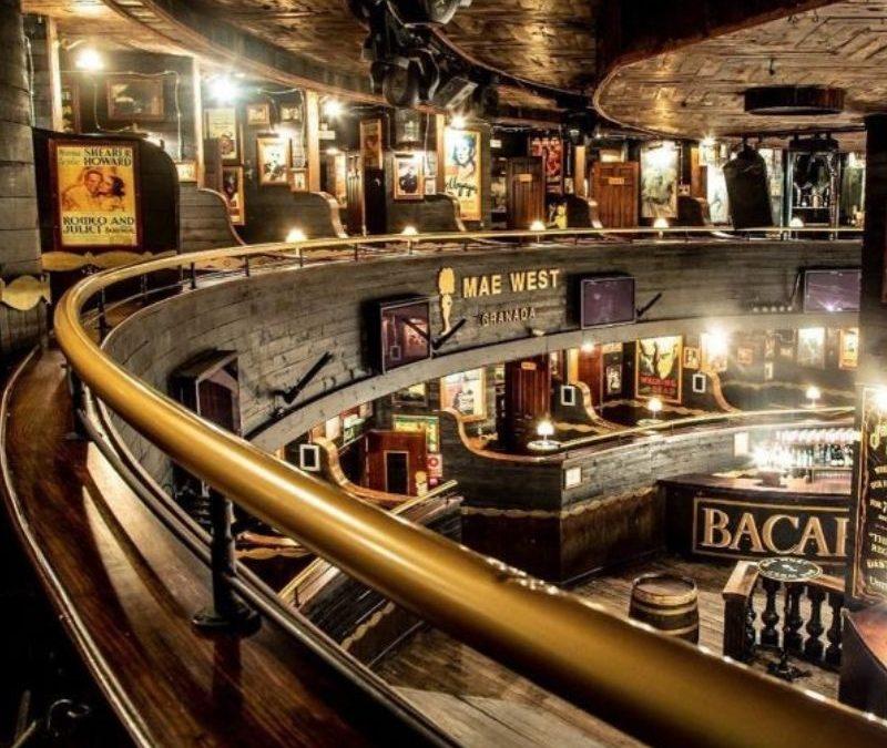 Barniz ignífugo en discoteca de Granada