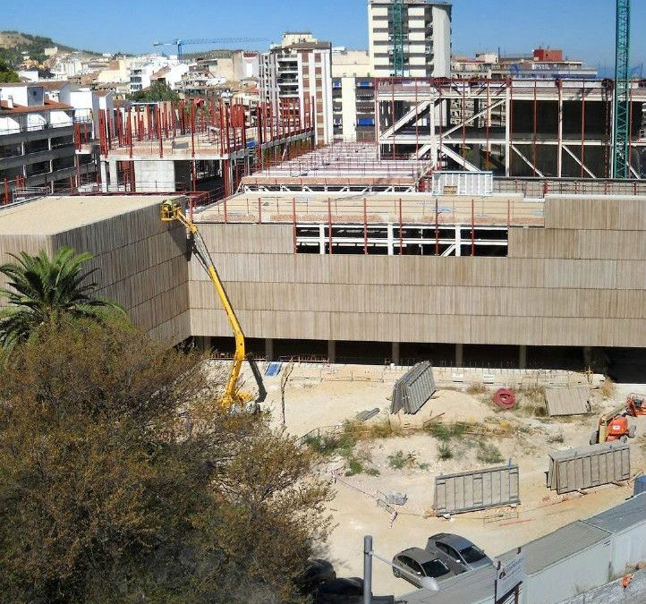 Mortero ignífugo en museo de Jaén