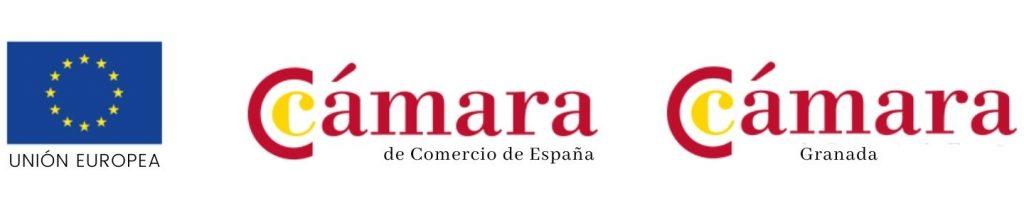 Logo ayudas Cámara de Comercio Granada - Berbel Porcel
